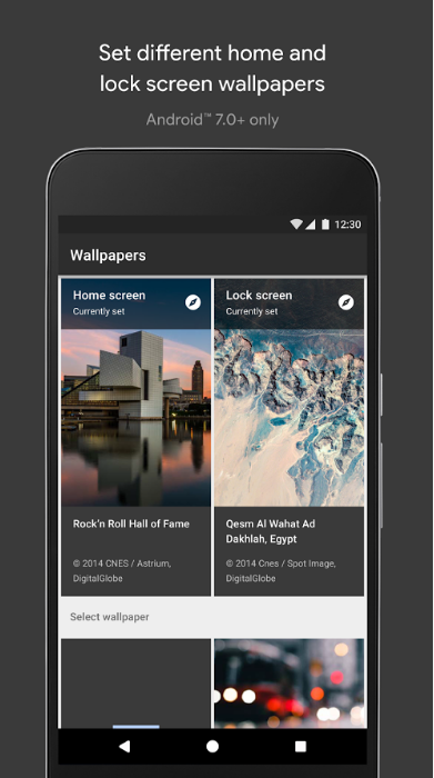We Would Be Remiss Without Kicking Off This Roundup Mentioning The Official Google Wallpapers App Was Released Back In 2016
