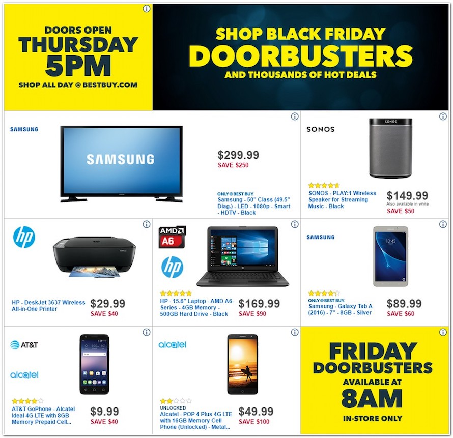 best buy posts its black friday 2016 ad revealing galaxy s7 deal and more. Black Bedroom Furniture Sets. Home Design Ideas