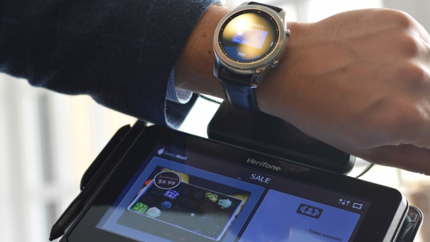 how to use samsung pay on gear s3