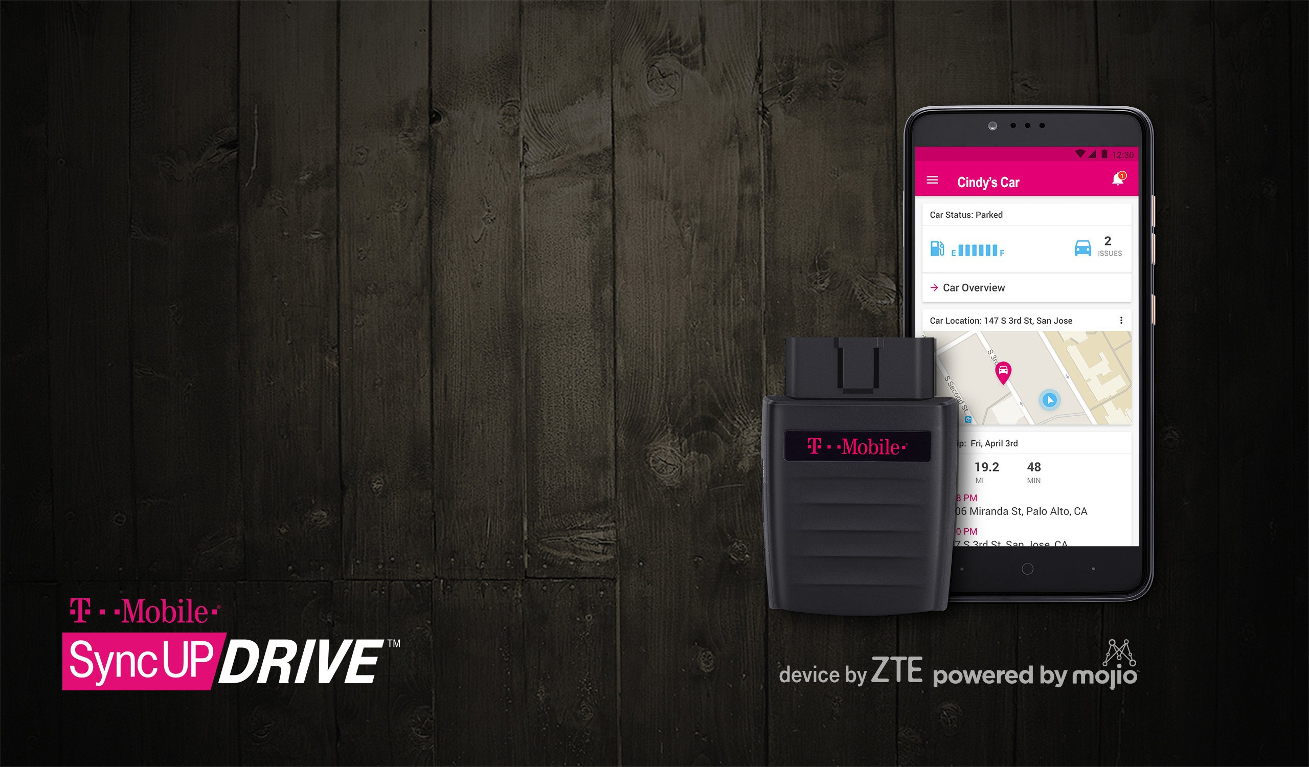 Mobile SyncUP DRIVE to connect your vehicle with LTE