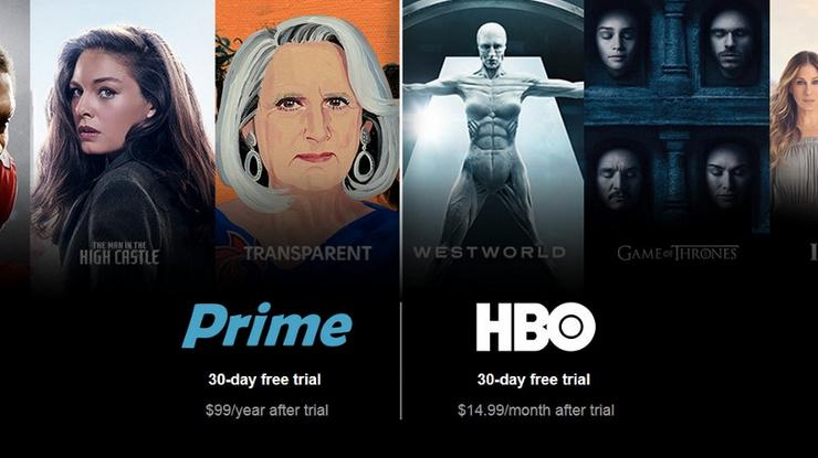 Amazon Now Lets Prime Members Subscribe to HBO and Cinemax