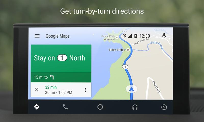 OK Google is now enabled in Android Auto for all