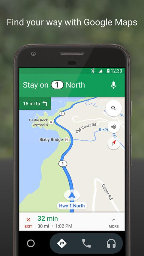google-maps-android-auto