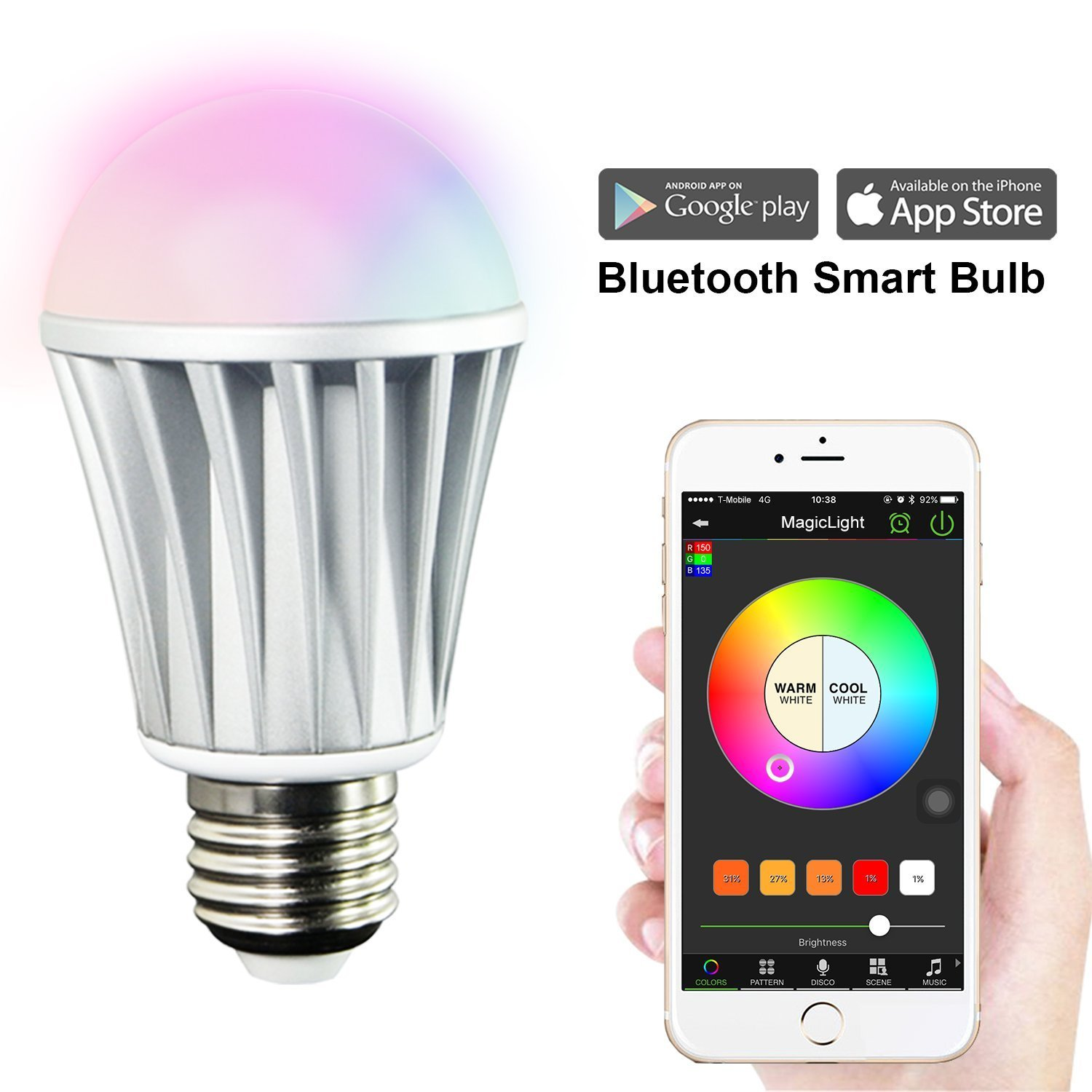 Smart lights on a budget how to Smart light bulbs