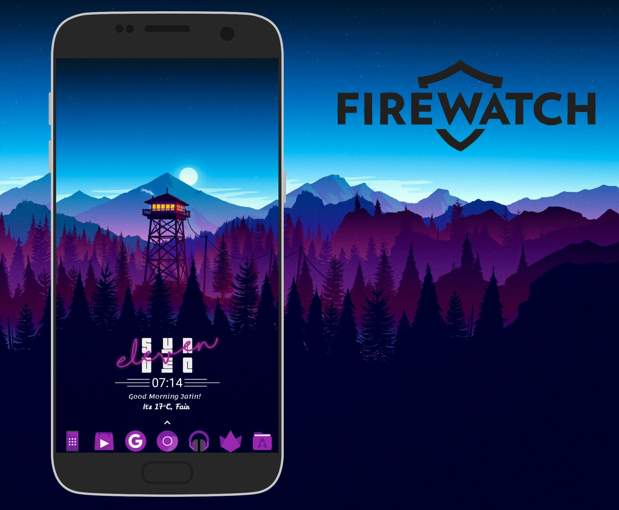 5 Minute Android Makeovers: Firewatch