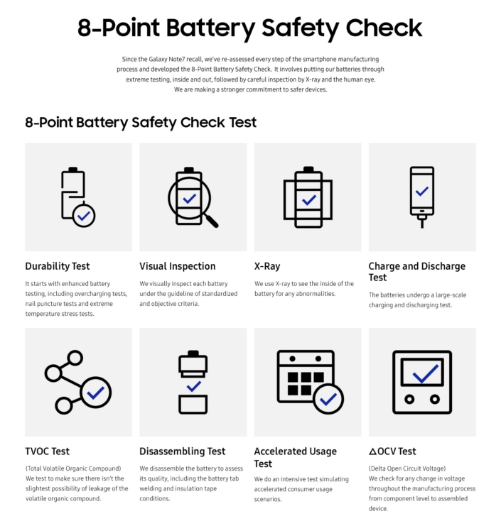 Battery Safety Check