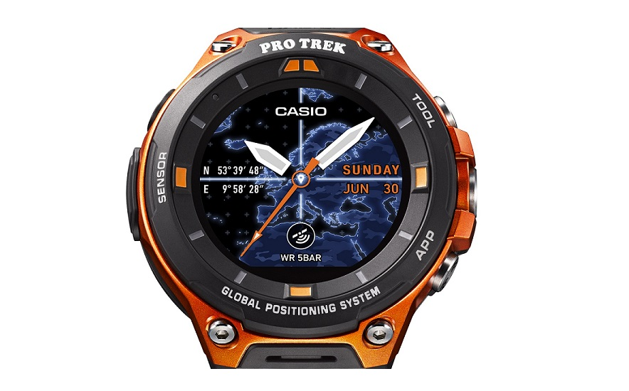 Casio has a new rugged smartwatch with GPS and Android ...