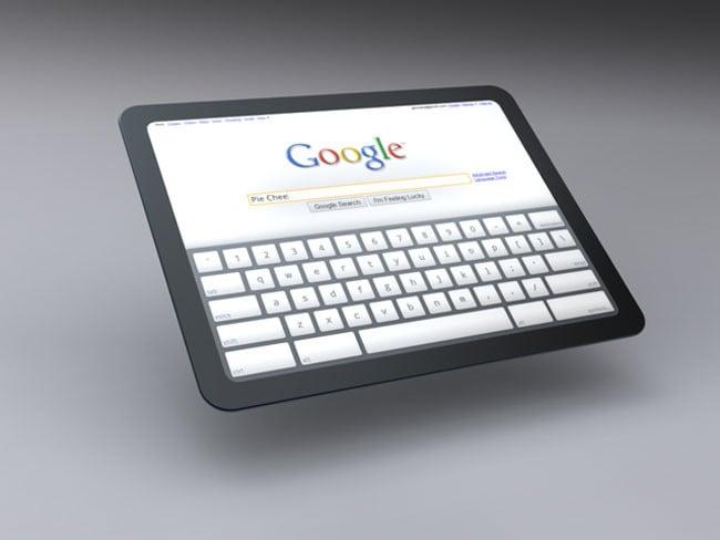 Chrome OS Tablet Older Concept
