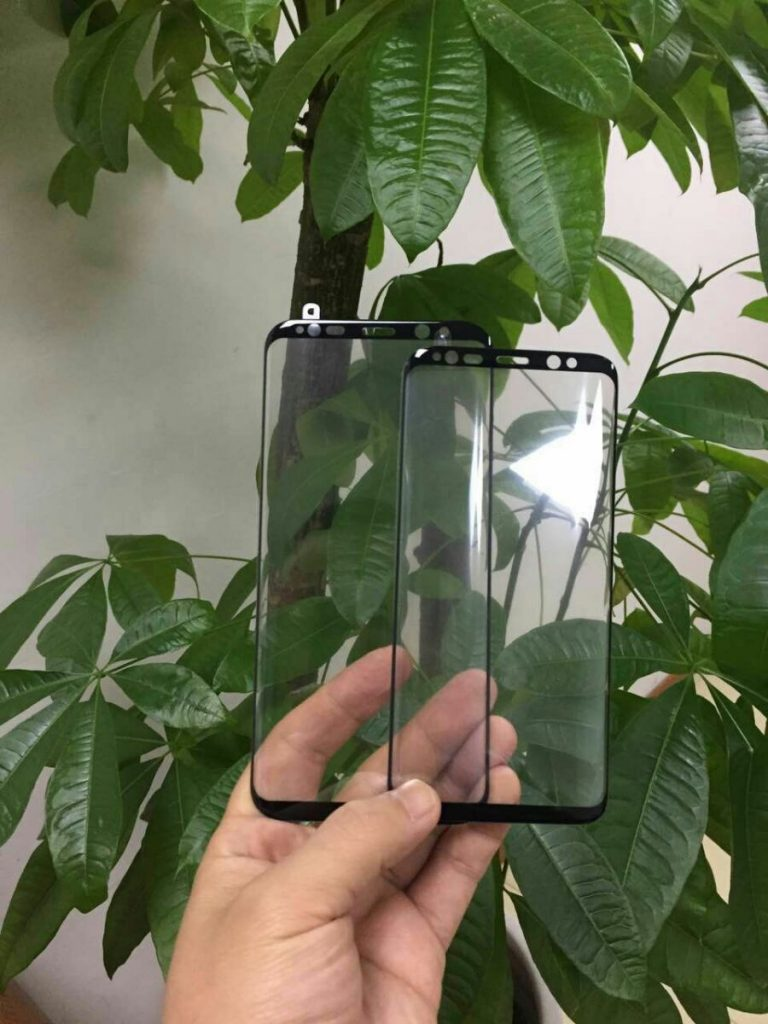 Galaxy S8 an S8 Plus Front Panels