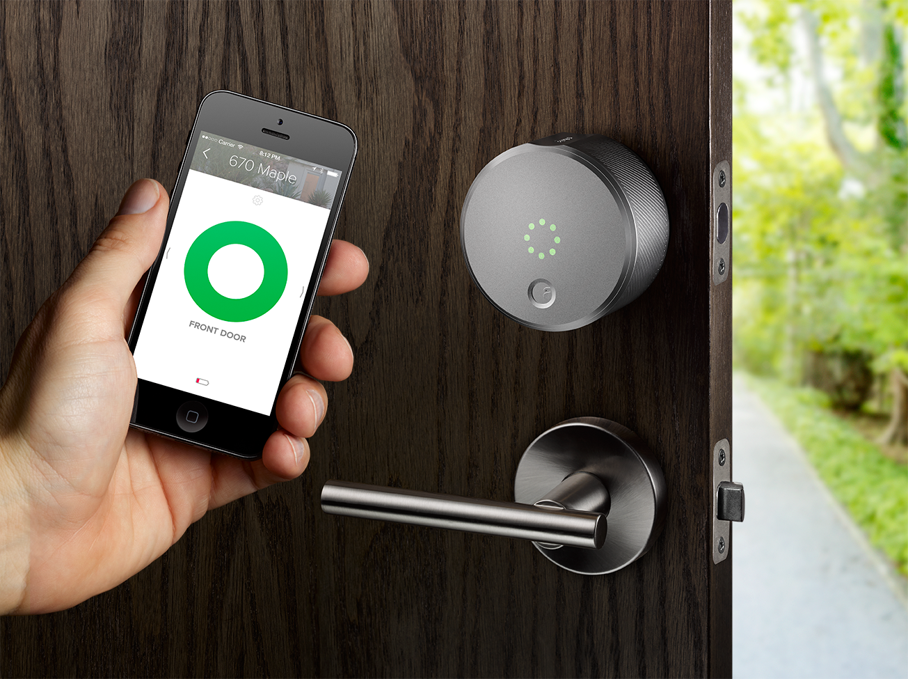 & Installing the August Smart Lock is as easy as locking the door [How-To]