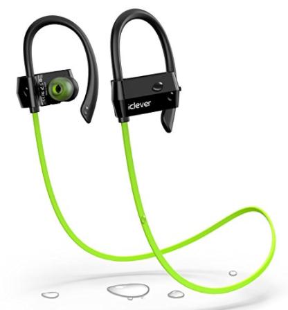 iclever headphones green