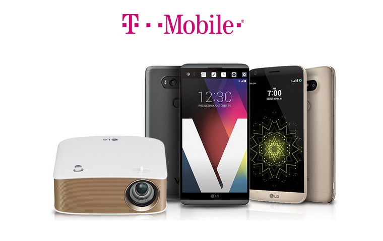 get a free lg minibeam projector with the purchase of lg v20 or lg g5 at t mobile. Black Bedroom Furniture Sets. Home Design Ideas