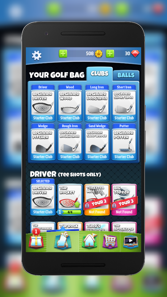 the best driver in golf clash