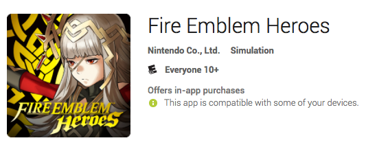fire emblem heroes google link