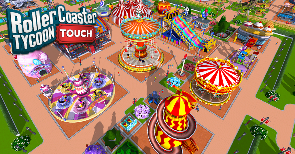 Atari's RollerCoaster Tycoon Touch for Android is now available for