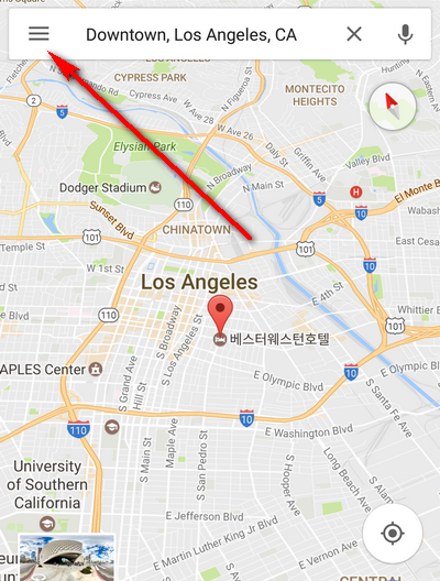 Enable traffic notifications in Google Maps