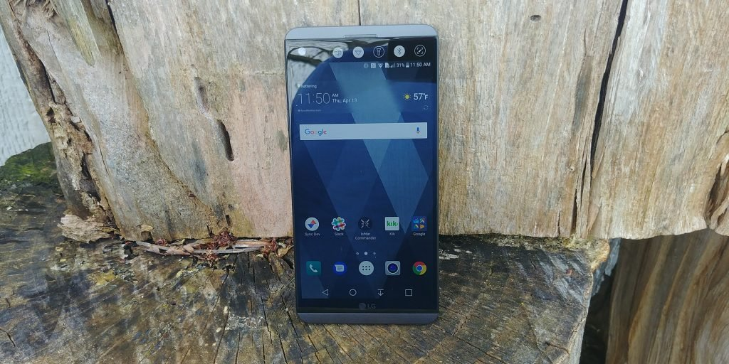 Here's our closest look at the LG V30