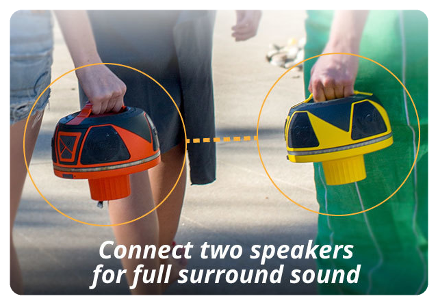 wow sound speaker pair