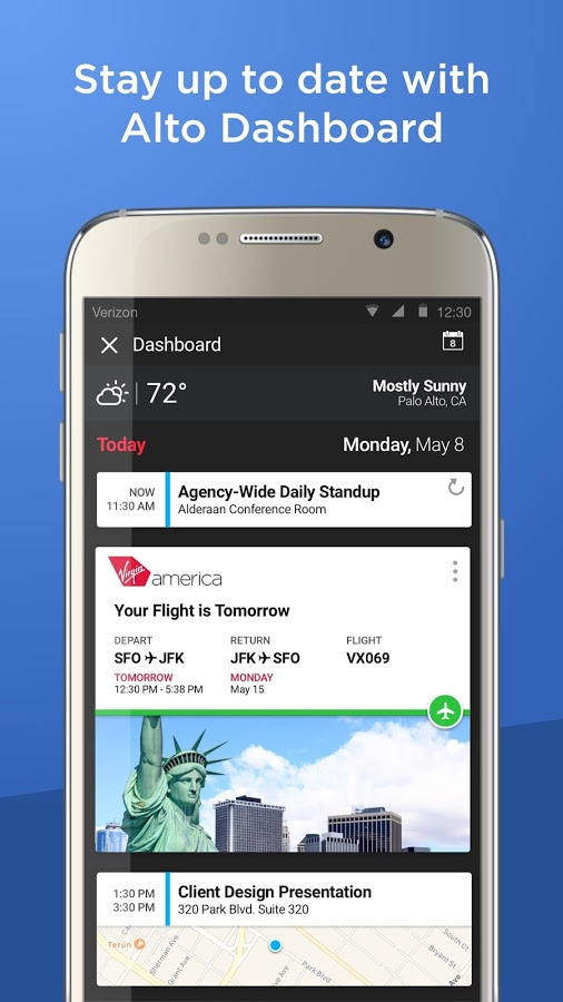 AOL's Alto email update adds full calendar capability