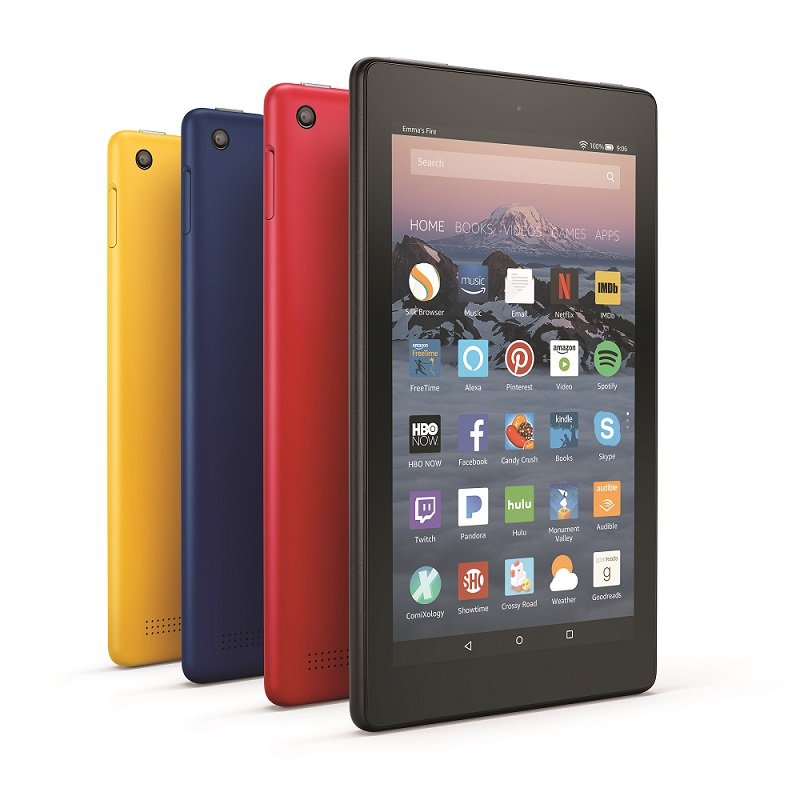 Amazon launches new Fire tablets, keeps prices low