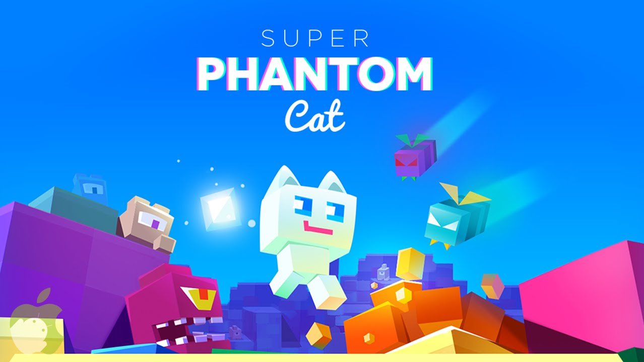 Super Phantom Cat action game for iOS device