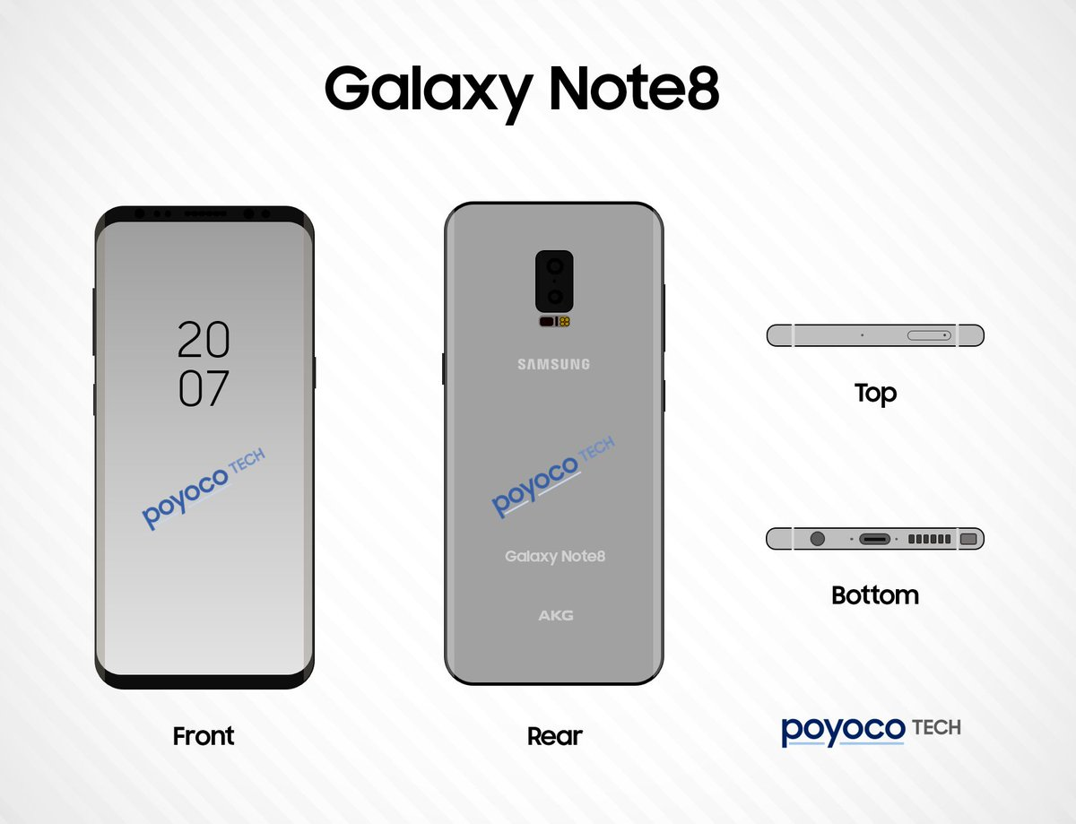 samsung galaxy note8 could arrive before the iphone 8. Black Bedroom Furniture Sets. Home Design Ideas