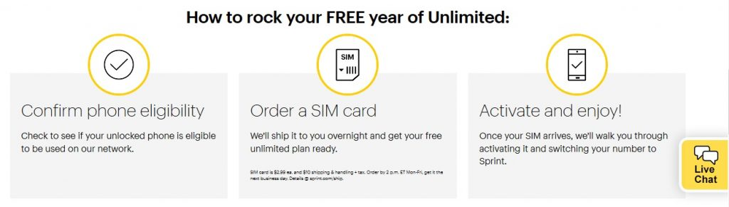 Sprint's new super deal awards 1-year of free unlimited service to
