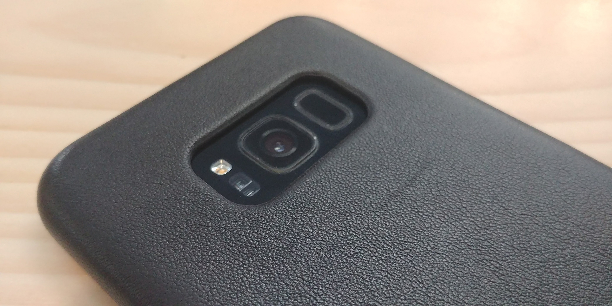 more photos 722ed 28748 Mujjo's Leather Case for the Samsung Galaxy S8 Plus is brilliant ...