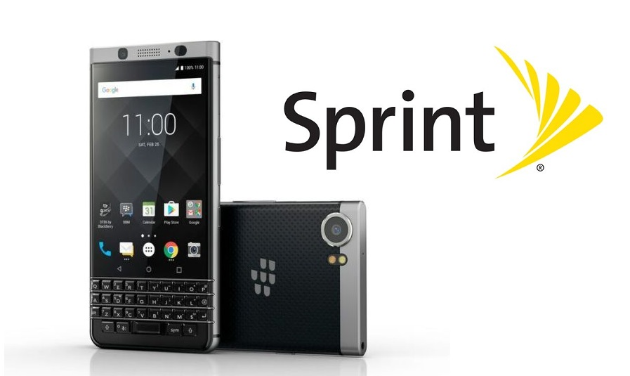 BlackBerry KEYone coming to Sprint tomorrow
