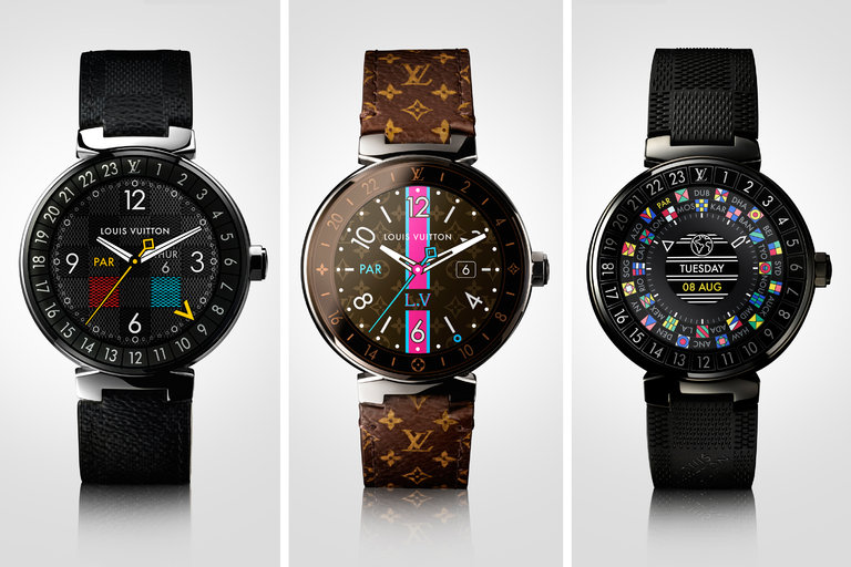Louis Vuitton made a $3000 Android Wear smartwatch