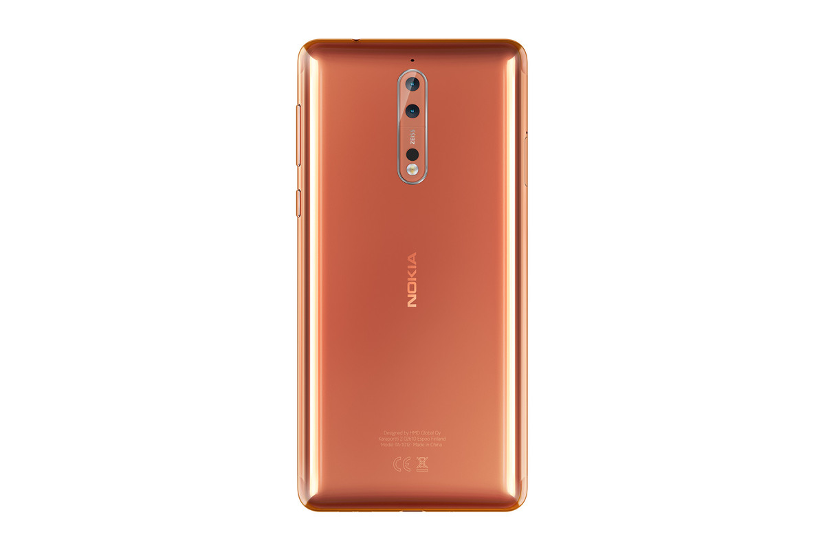 A custom Nokia 8 variant could be coming to the US