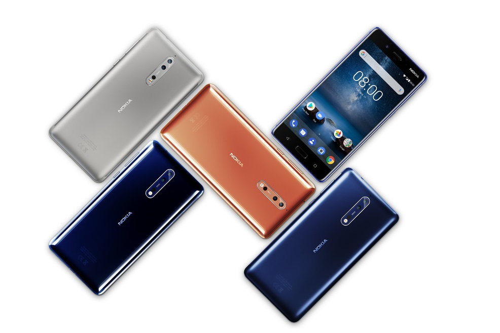 HMD: Nokia 8 coming to India by Mid-October
