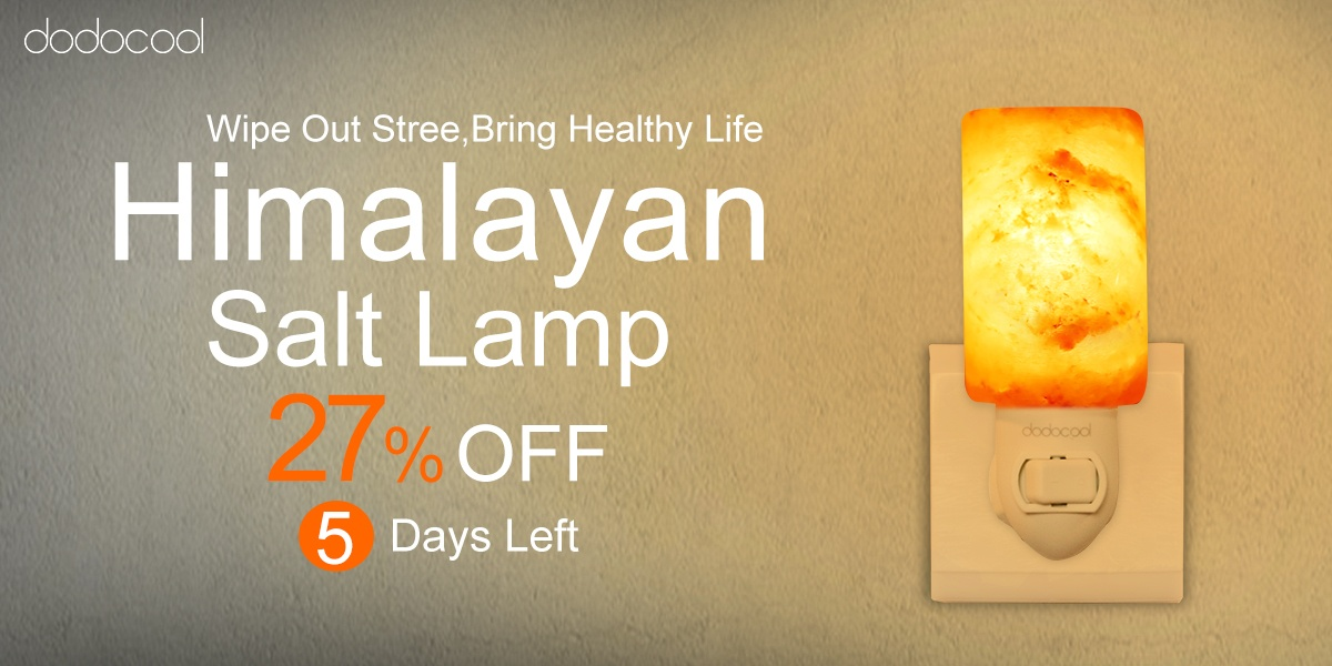This Himalayan Salt Lamp is up to 27% off for a limited time AndroidGuys