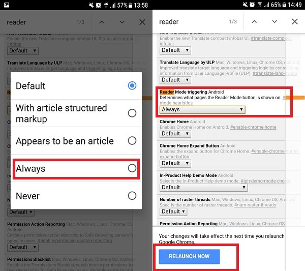 Enable Reader Mode in Chrome for Android [How-To]