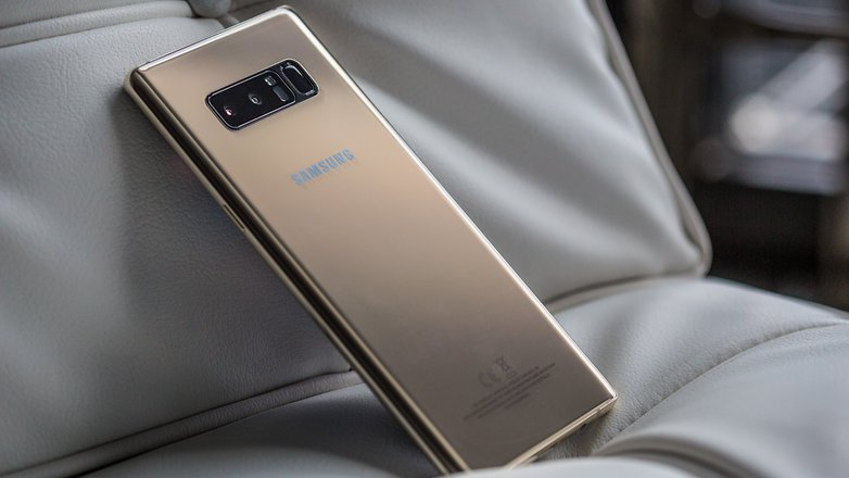 Samsung showcases its to-be-released Galaxy Note 8