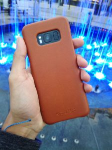 release date 89c8a cf914 Mujjo's leather case for the Samsung Galaxy S8 is as premium as it ...