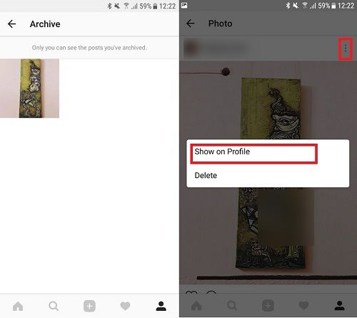 How to hide photos on Instagram (without deleting them)