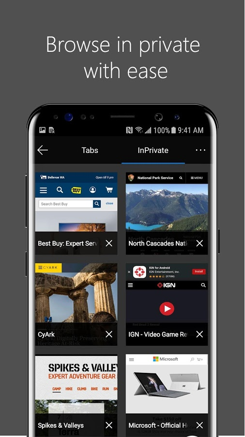 Microsoft Edge browser for Android sheds beta status, now ...