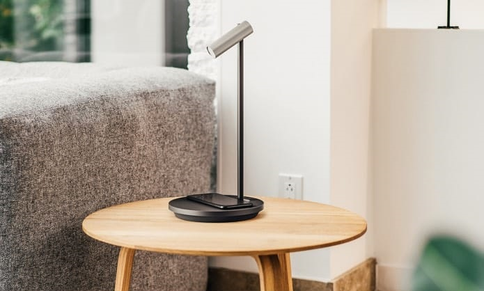 Olie is a lamp thats also a wireless charger and a smart assistant