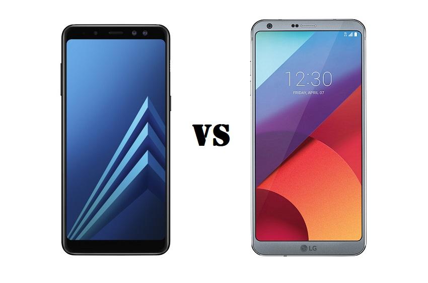 samsung galaxy a8 2018 vs lg g6 smartphone showdown. Black Bedroom Furniture Sets. Home Design Ideas