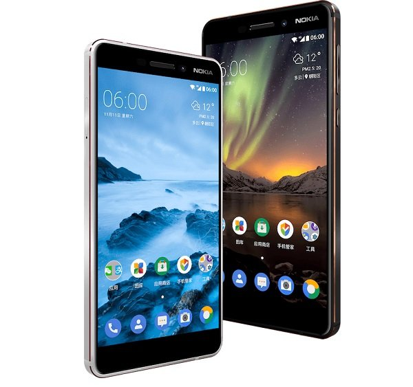 Nokia 6 (2018) receives Android Oreo update and Google Play support