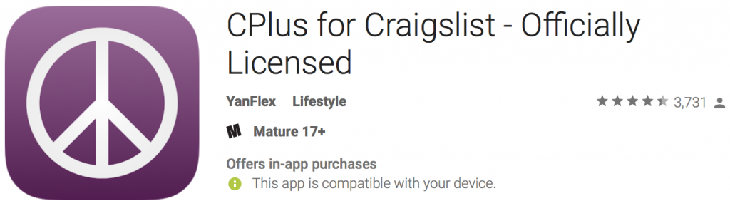 craigslist apps for selling your stuff