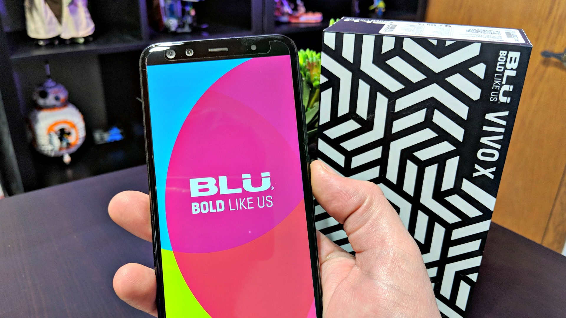 Blu Vivo X Powering On