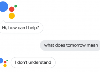 Google Assistant tomorrow