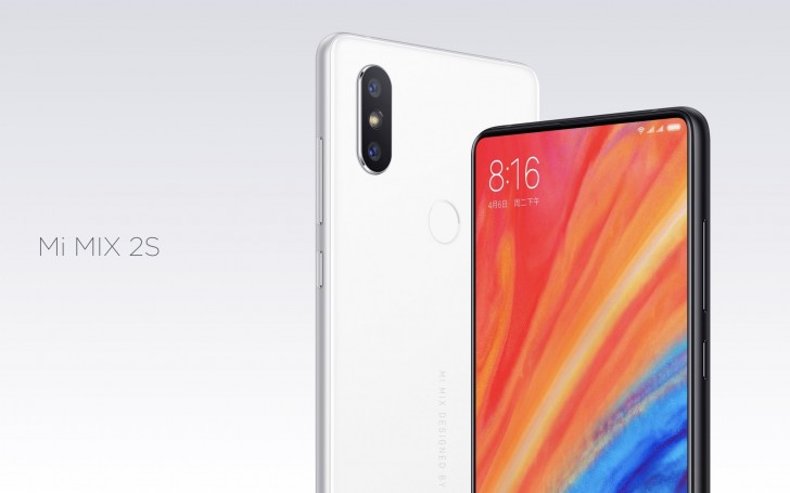 Xiaomi Mi MIX 2S With 12MP Dual Rear Cameras Announced