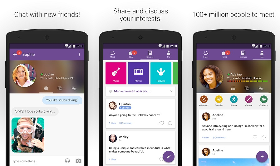 Seven best apps for meeting new people and making friends