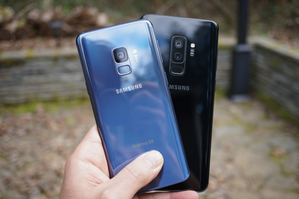 Samsung Galaxy S9 and S9+