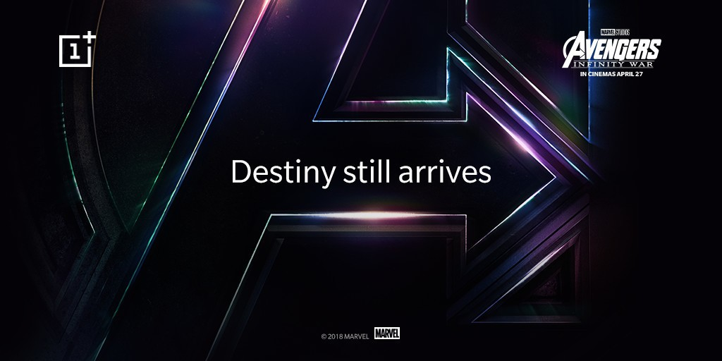 The OnePlus 6 will arrive in a Avengers-themed edition