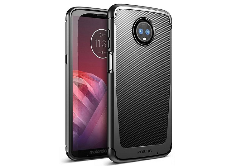 Moto Z3 Play leaks with side-mounted fingerprint scanner