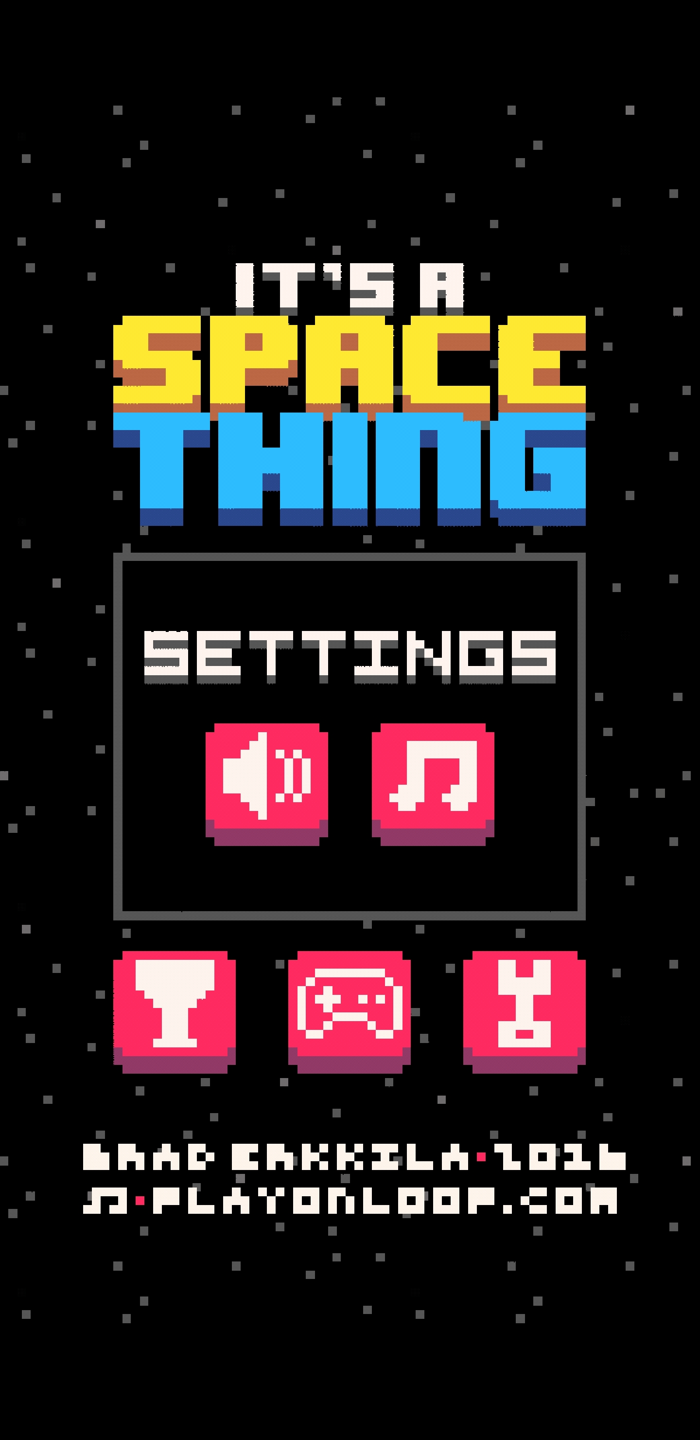 Space Thing Settings